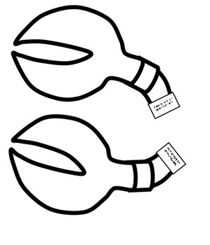 Letter of the week-Letter C-Art Activity Templates- C is for Crab