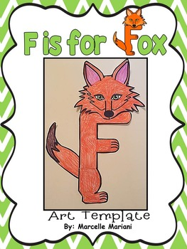 Letter of the week-Letter F-Art Activity Template- A letter F Craftivity