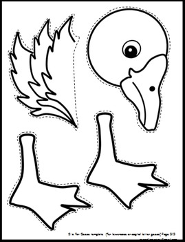 Letter g art activity templates g is for goose art activity tpt letter g art activity templates g is for goose art activity spiritdancerdesigns Choice Image