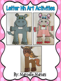 Letter of the week-Letter H-Art Activity Templates- A letter H Craftivity