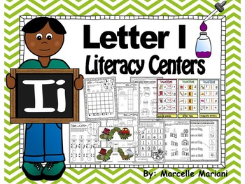 Letter of the week- Letter I Literacy Center Activities fo