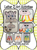 Letter of the week-Letter J-Art Activity Templates- A letter J Craftivity