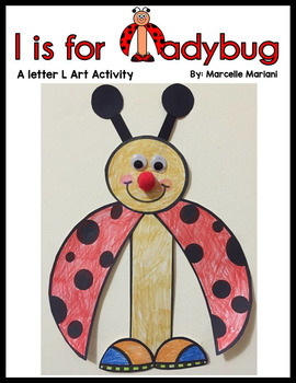 Letter of the week, Letter L Art Activity- l is for ladybu