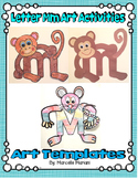 Letter of the week Art Activity- Letter M is for Monkey and Mouse Art activity