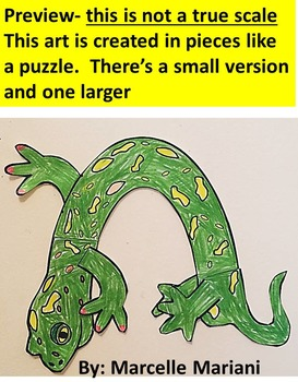 Letter of the week-Letter N- N is for Newt- A letter N Art Craftivity