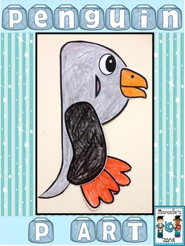 Letter of the week-Letter P-Art Activity Templates- P is for Penguin Art
