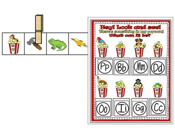 Letter of the week- Letter P Literacy Center Activities for kindergarten