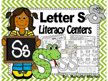 Letter of the week- Letter S Literacy Center Activities fo