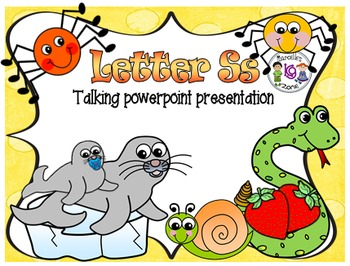 Letter of the week- Letter S- NARRATIVE (TALKING) Power Po