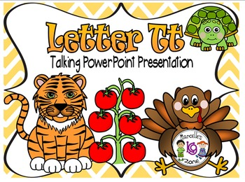 Letter of the week- Letter T- NARRATIVE (TALKING) Power Po