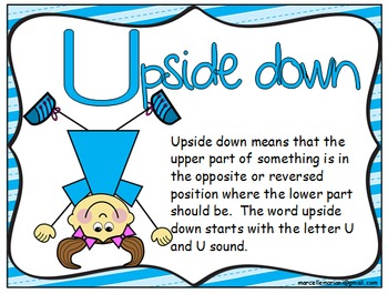 Letter of the week- Letter U- NARRATIVE (TALKING) Power Point Presentation