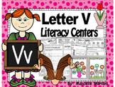 Letter of the week- Letter V Literacy Center Activities for kindergarten
