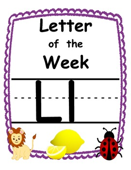 Letter of the week Ll