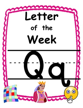 Letter of the week Qq