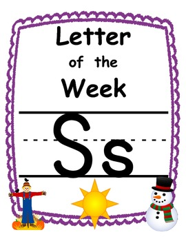 Letter of the week Ss