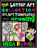 Alphabet Art Activities- 89 Alphabet Letter Art Activities-ENDLESS BUNDLE