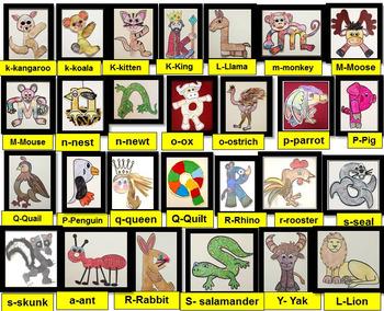 Alphabet Art Activities- 89 Alphabet Letter Art Activities-ENDLESS BUNDLE