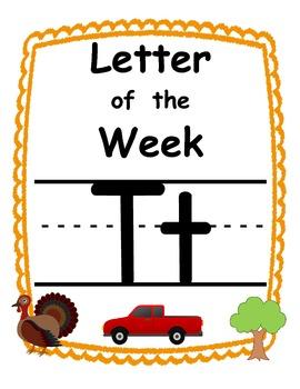 Letter of the week Tt