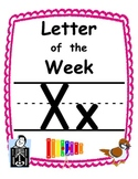 Letter of the week Xx