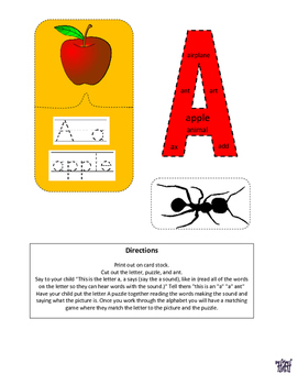 Letter of the week letter A (Color)