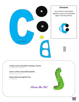 Letter of the week letter C