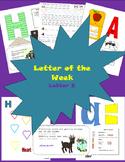 Letter of the week letter E