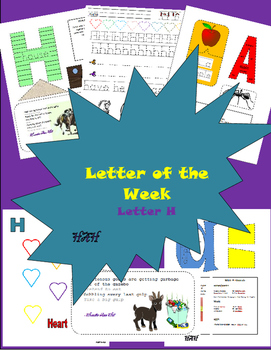 Letter of the week letter H