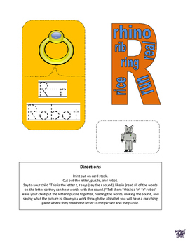 Letter of the week letter R