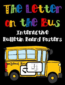 Letter on the Bus Song Posters