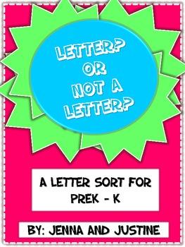 Letter or Not a Letter Sort
