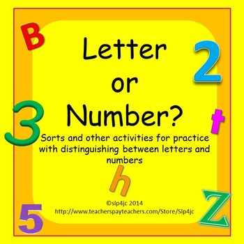 Letter or Number?