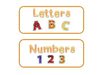 Letter or Number? A Turkey-Themed Sorting Activity