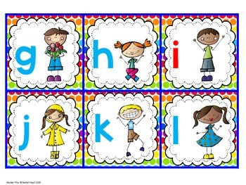 Letter or Number Sort Activities for Back to School Review and Practice