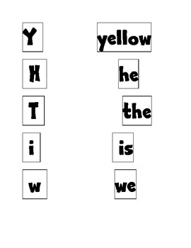 Letter or Word? Sort