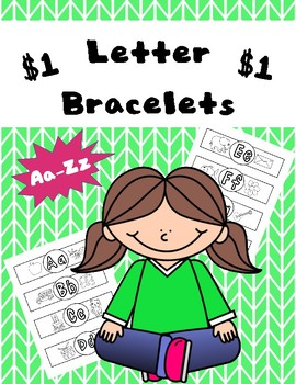 Letter (or sound) Bracelets: With Pictures
