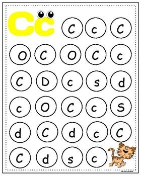 Letter recognition - alphabet dotting!