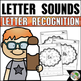 Letter Sounds and Letter Recognition Worksheets