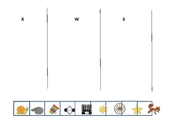 Letter recognition (s, w, x)