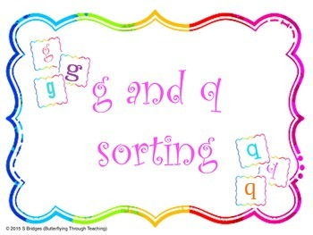 Letter reversals g and q