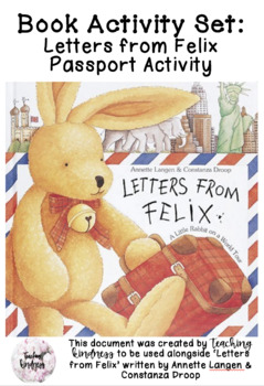 Letter's From Felix Writing Activity Passport