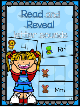 Read and reveal beginning sound cards