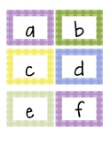 Letter tags