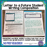 Letter to A Future Student Writing Composition