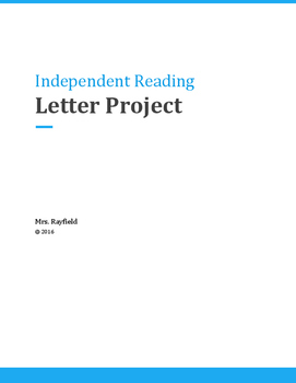 Letter to Author (independent Reading)