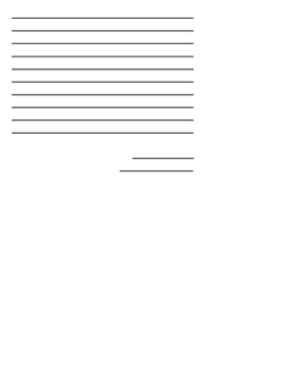 Letter to Dr. Seuss template