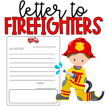 Letter to Firefighters