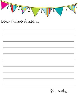 Letter to Future Student