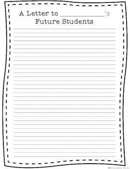 Letter to Future Students from Current Students