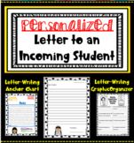 Letter to Incoming Student