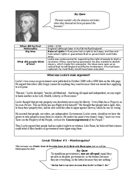Letter to King George - American Revolution Project